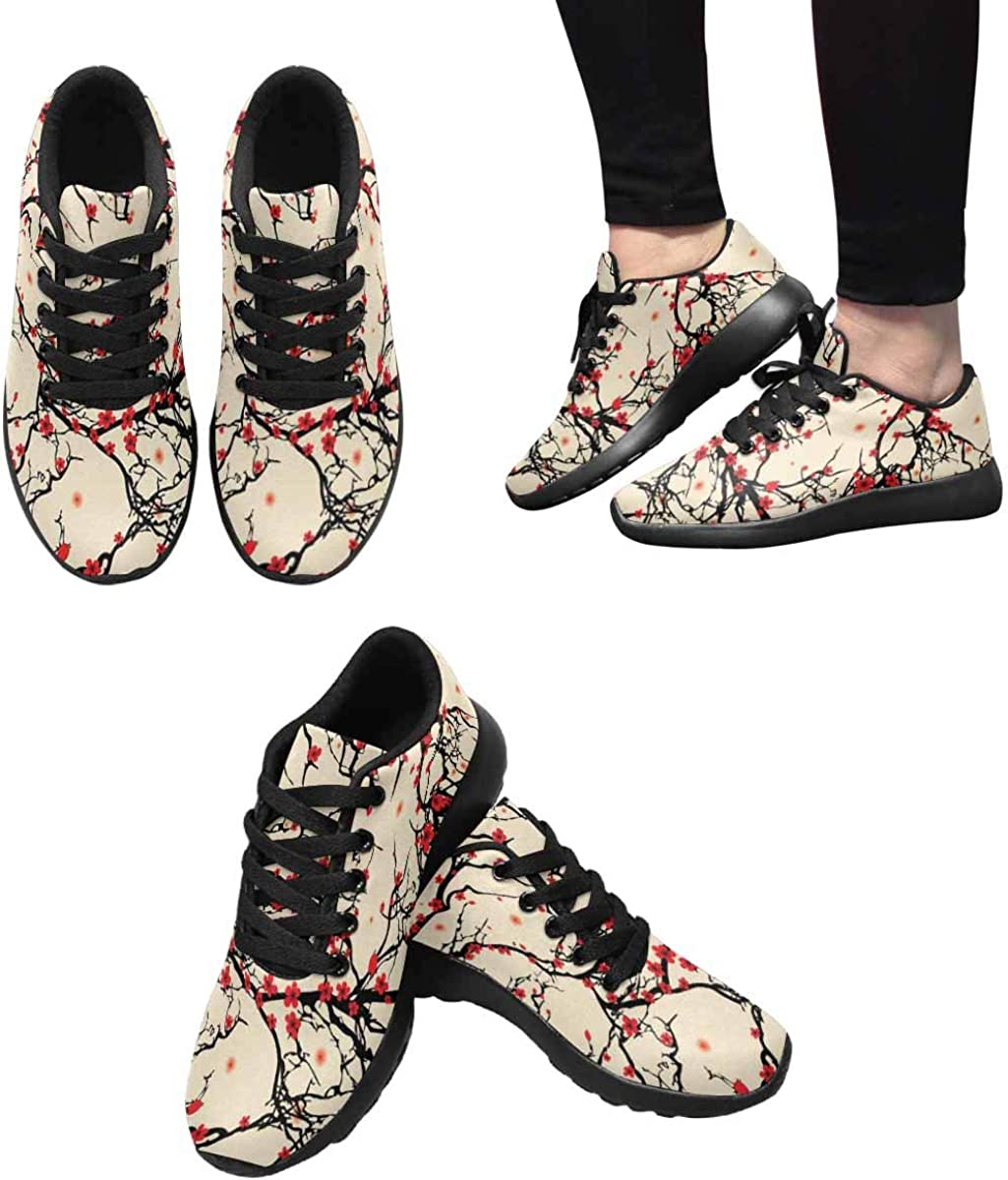 InterestPrint Women's Athletic Sneakers for Gym