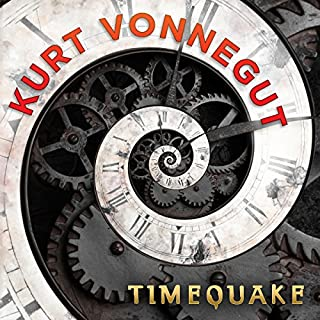 Timequake audiobook cover art