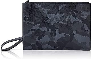 Wristlet Wallets for Women Large Wristlets Purse Leather Clutch Wallet Zipper Men Clutch Bag