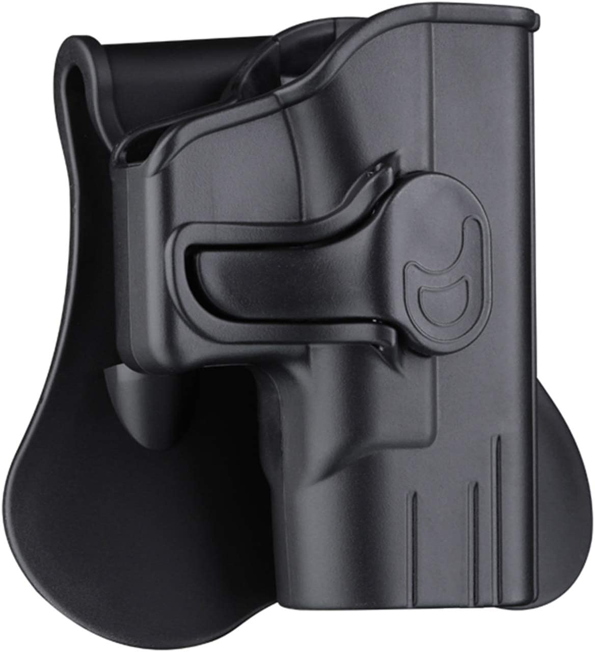 """OWB Paddle Holster for Springfield XDS 3.3"""" Single Stack 9mm/.40(Not for .45)"""