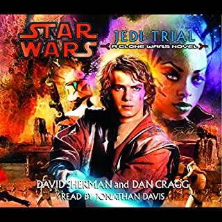 Star Wars: Jedi Trial audiobook cover art