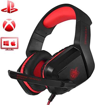 PHOINIKAS H1 Stereo Gaming Headset,Noise-Cancelling...