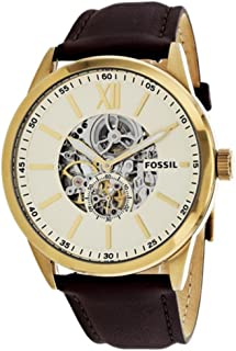 Fossil Men's BQ2215 Year-Round Analog Automatic Brown Watch