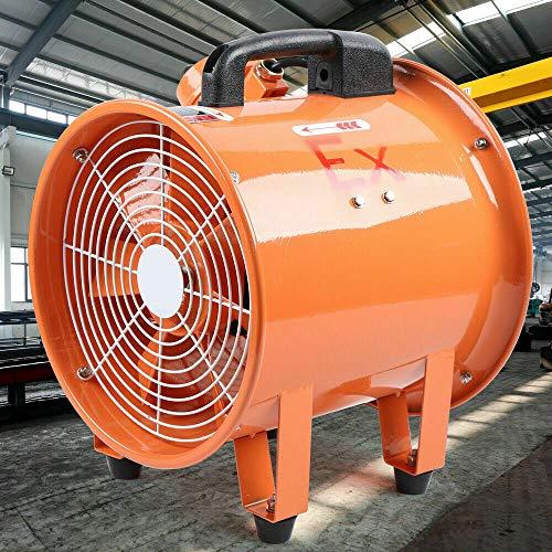Ventilador de tubo para calefacción de aceite, 300 mm, 220 V, 2800 rpm