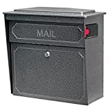 Mail Boss 7175 Townhouse Locking Security Wall Mount Mailbox,...