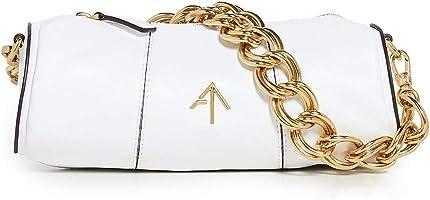 MANU Atelier Women's XX Mini Cylinder Bag, White, One Size