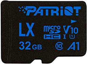 Patriot Memory 32GB A1 Micro SD Card SDHC for Android Phones and Tablets, HD Video Recording - PSF32GLX11MCH