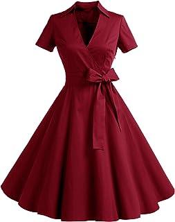 f72bcb37e95 Timormode Robe Années 50 s Audrey Hepburn Rockabilly Swing