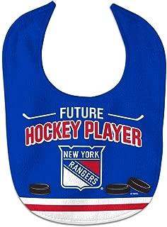 WinCraft NHL New York Rangers WCRA2194614 All Pro Baby Bib