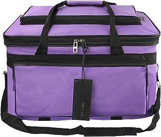 Waterproof Art & Craft Portfolio Storage Bag with Handle Artist Travel Art Carrying Bag Adjustable Shoulder Bag Tote Case ...