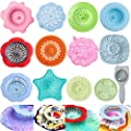 Acrylic Pouring Strainers,13 Pcs Acrylic Paint Pouring Strainers Plastic Flower Strainers Silicone Pouring Drain Basket for DIY Pouring Acrylic Paint and Creating Unique Patterns Art Supplies