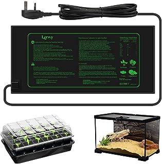 Sponsored Ad – LERWAY Seedling Heating Mat Plant Warming Mat Waterproof Greenhouse Heating Pad 21W for Propagation Germina...