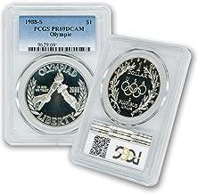 1988 S - Silver Commemorative Olympic $1 PR69DCAM PCGS