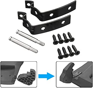 For Audi A4 S4 RS4 B6 B7 8E Glove Box Lid Hinge Snapped Repair Fix Kit Brackets X0065-B
