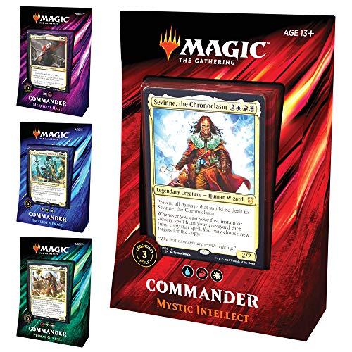 Magic: The Gathering Commander 2019 Decks   All 4 Decks
