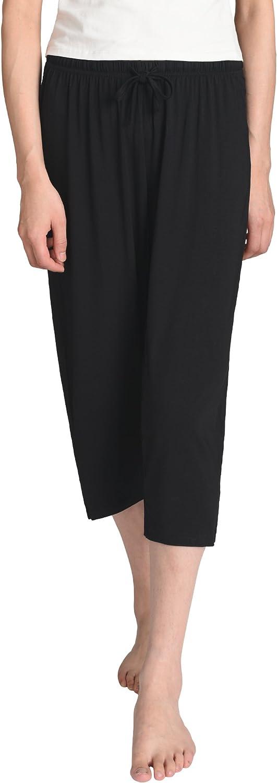 Latuza Women's Knit Capris Sleepwear
