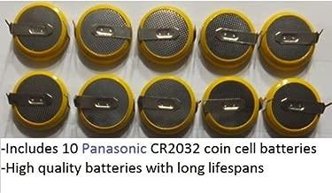 X10 NES, SNES, N64, Sega Genesis Panasonic Save Batteries CR2032 Tab