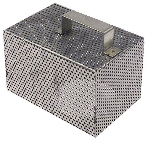 Sammic Filtro de aspiración para lavavajillas SC-1100, SC-1200, longitud 160 mm, ancho 105 mm, altura 100 mm.