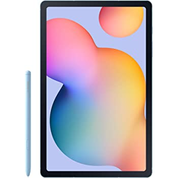 "Samsung Galaxy Tab S6 Lite 10.4"", 128GB WiFi Tablet Angora Blue - SM-P610NZBEXAR - S Pen Included"