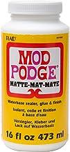 Mod Podge CS11302 Waterbase Sealer, Glue and Finish, 16 oz, Matte