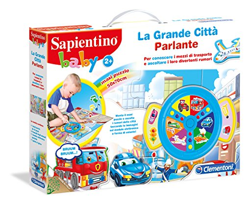 Clementoni 12023 – sapientino bébé The Big City parlante