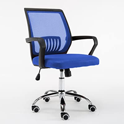 Silla ergonómica de oficina,Giratoria Elevable y reclinable Silla de escritorio Sillas de escritorio de