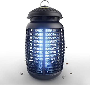 Bug Zapper Waterproof Outdoor/Indoor-Fly Traps Patio Insects Killer-Bug zapper-Mosquito eradicator-electric- 4200V High Power
