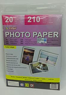 Fis Glossy Photo Paper 210x207mm A4 Size 260gsm 20sh