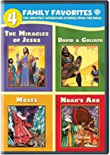 4 Family Favorites: Greatest Adventures of the Bible