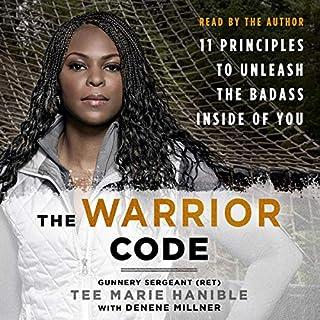 The Warrior Code audiobook cover art