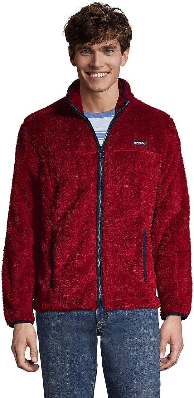 Lands' End Sale Men's Fleece Sherpa Ranking TOP4 Jacket