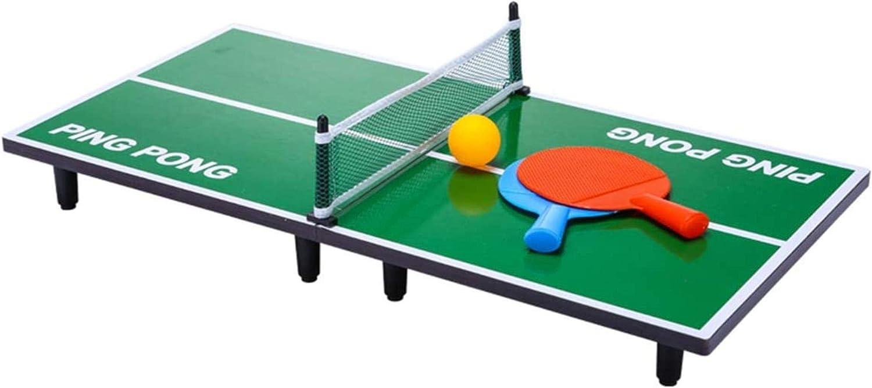 JSY Mesa de Ping Pong Mesa de Air Hockey Juego de niños / Adultos / Family Table Mesa de Ping Pong Mini Grande Cubierta Mesa de Ping Pong Juego de Mesa Plegable Mesa de Ping Pong Entre Padres e Hijos