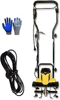 QILIN Electric Tiller, 1500w/2400w Corded Electric Tiller/cultivator, Cutting Swath Garden Tiller/cultivator, Lightweight,...