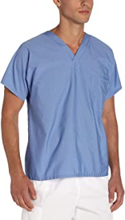 Landau womens Unisex V-neck Scrub Top Medical Scrubs Shirt