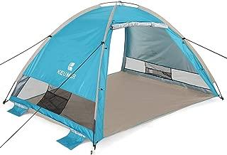 G4Free Large Beach Tent Camping Sun Shelter Portable Automatic Cabana Anti UV Shade
