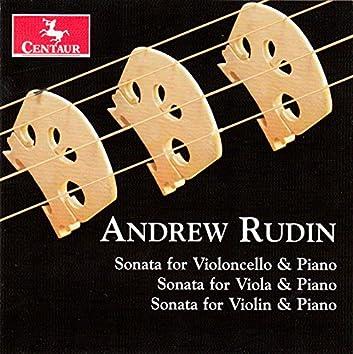 Andrew Rudin: 3 String Sonatas