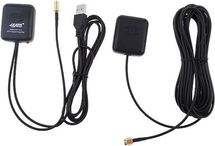 IPOTCH Antena De GPS Amplificador De Navegación Repetidor De Señal del Coche Transmisor Receptor
