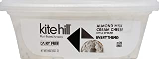 Kite Hill, Cream Cheese Style Spread Everything, 8 Ounce