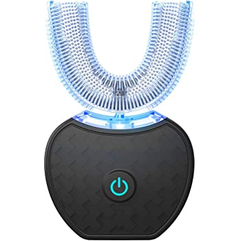 automatic toothbrush,Sonic toothbrush,Sonic Teeth Whitening,Electric Toothbrush Teeth Whitening Kit With LED Light,Black