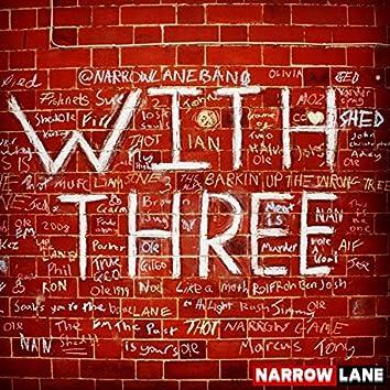 With Three