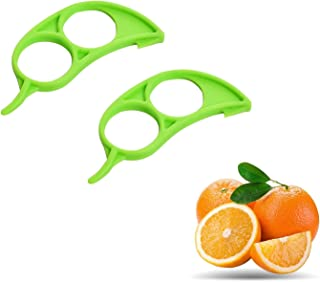 SOLDOUT™ 2 PCS Orange Peeler Lemon Slicer Orange Peeling Device Fruit Peeling Device Citrus Knife Kitchen Tools Gadgets (G...