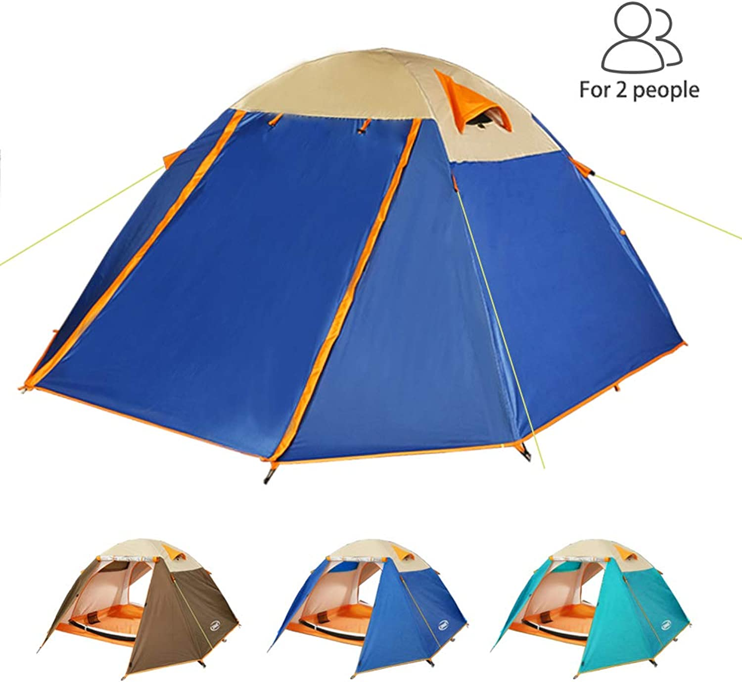 ZOMAKE Lightweight Backpacking Tent 2 Person4 Season Waterproof Camping Tent