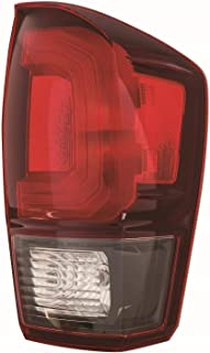 Tail Light For 2018 Toyota Tacoma Passenger Side Assembly Red Bezel Capa Depo TO2801203C