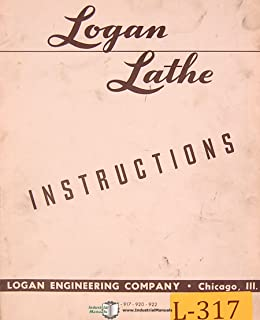Logan 915, 917 920 & 922, Lathe Operating Instructions Manual (52)