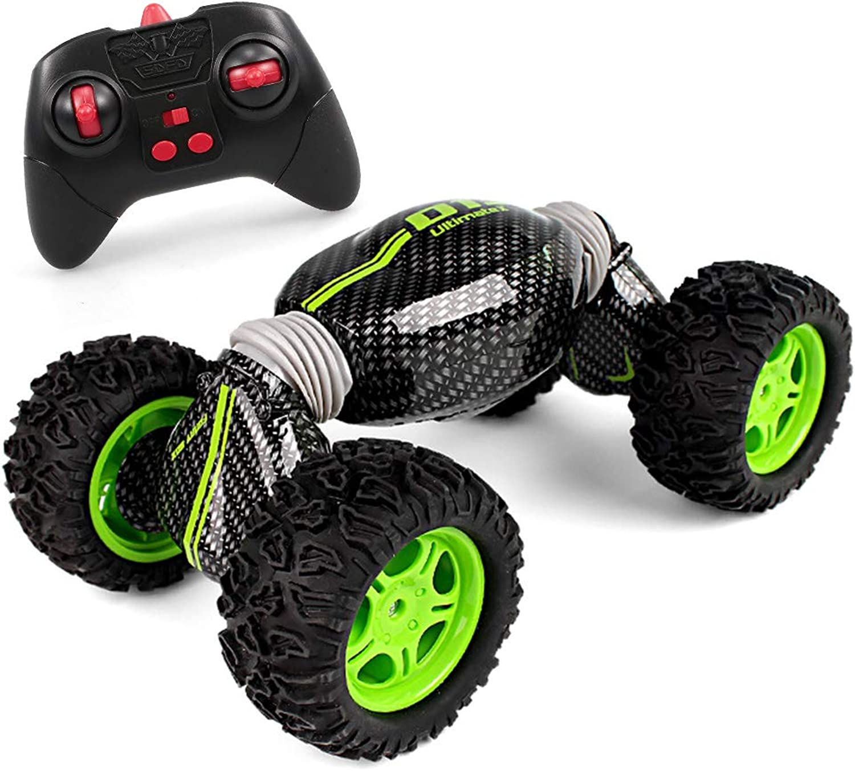 Goolsky RC Car One Key Transform RC Stunt Car 2.4G 4WD Allterrain Vehicle Crawler for Kids Adults