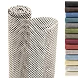Smart Design Shelf Liner Premium Grip - (18 Inch x 8 Feet) - Drawer Cabinet Non Adhesive - Home & Kitchen [Taupe]