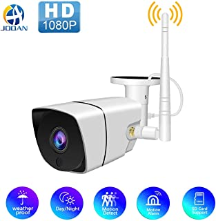 Wireless 1080P Outdoor WiFi Security Camera,JOOAN 2MP HD IP Home Surveillance Camera System with Super Night Vision,Motion...