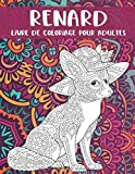 Renard - Livre de coloriage pour adultes