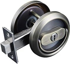 GangKun Onzichtbaar deurslot, binnenslot, universeel deurslot voor het huishouden, trekringslot, dubbele haak diefstalbeve...