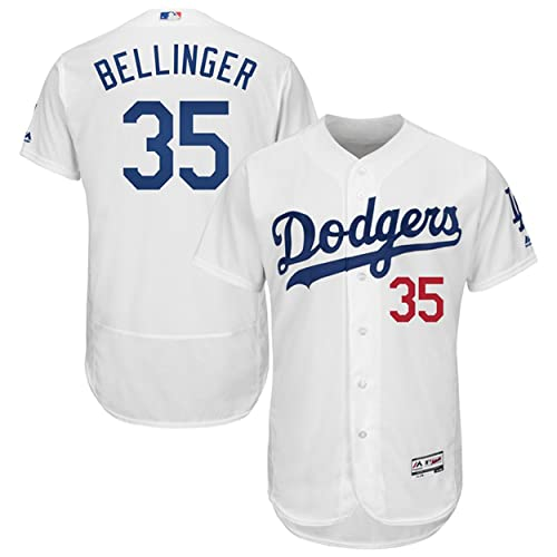 a45fbdb151b34 Majestic Athletic Men s Los Angeles Dodgers NO.35 Cody Bellinger White  Baseball Jersey